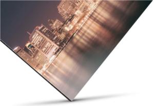 Direct Print on Aluminum Backing